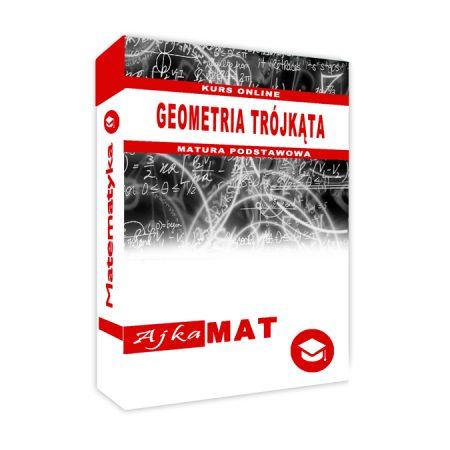 Kurs online geometria trójkąta