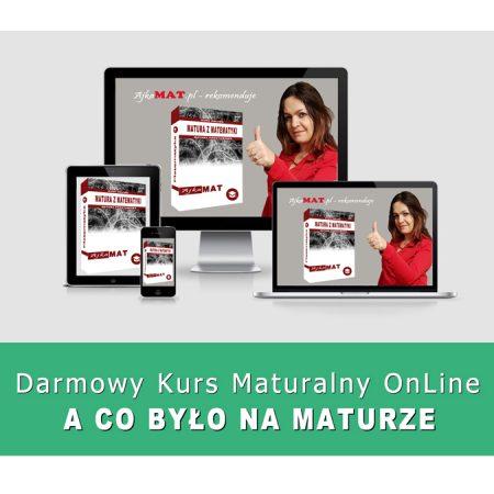 Darmowy kurs maturalny online- sprawdź to z AjkaMat.pl