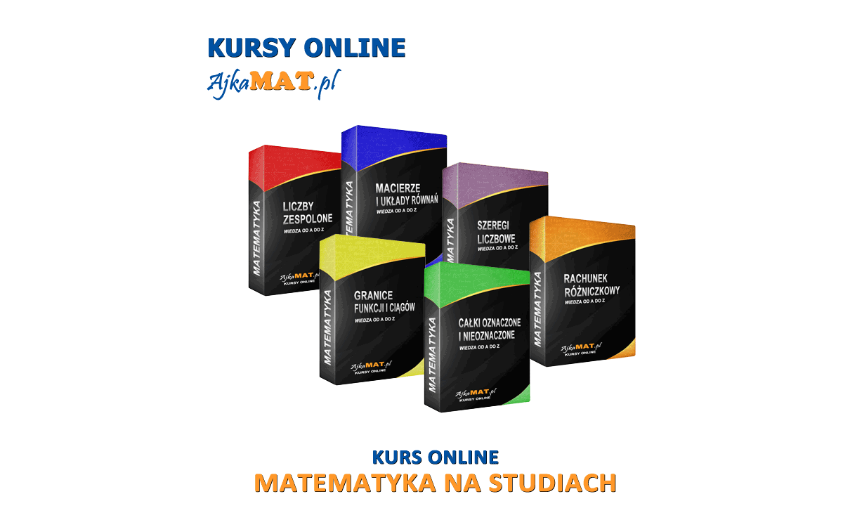 Matematyka na studiach - skuteczne korepetycje dla studentów od AjkaMat
