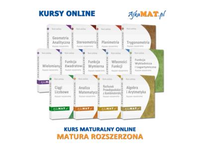 Kurs maturalny – poziom rozszerzony